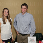 Emma O\'Grady and Todd Lamkin with APS.