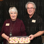 Laura and Steve Meyer with Snookie\'s Kookies and Elm Catering-Lou.