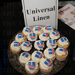 Universal Linen provided cupcakes during the event.