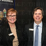 Christy Jarboe and Tommy Clark with Louisville Metro Government.