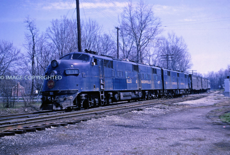 L&N 20 - Apr 10 1965 - Louisville KY