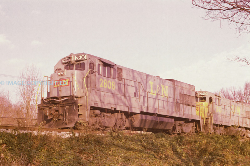 L&N - Nov 24 1975 - No 2808 0 Waverly TENN