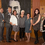 Josh Brockman-Weber, Steven Brockman-Weber, Shannon White, Shelley Winters, Erin Gillespie, Cindy Pryor and Erin Hinson of the Spina Biffida Association.