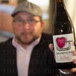 Mike Chinigo and a bottle of Heartache.