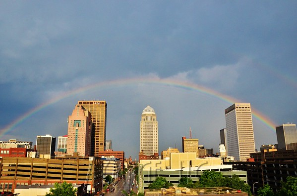 Louisville Skyline, Weather and City Scene Photos by Jacob Zimmer