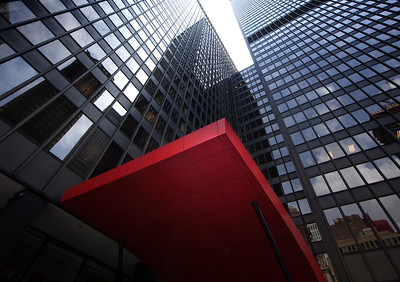 Chicago Red Awning