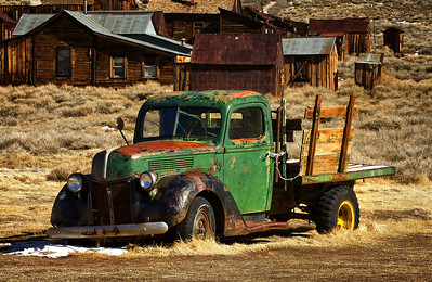 Bodie Flatbed Truck