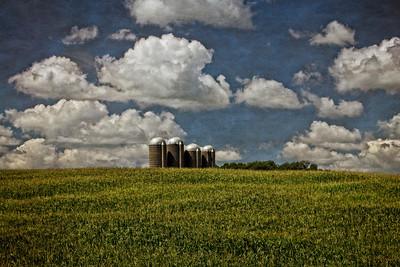 Four Silos Iowa