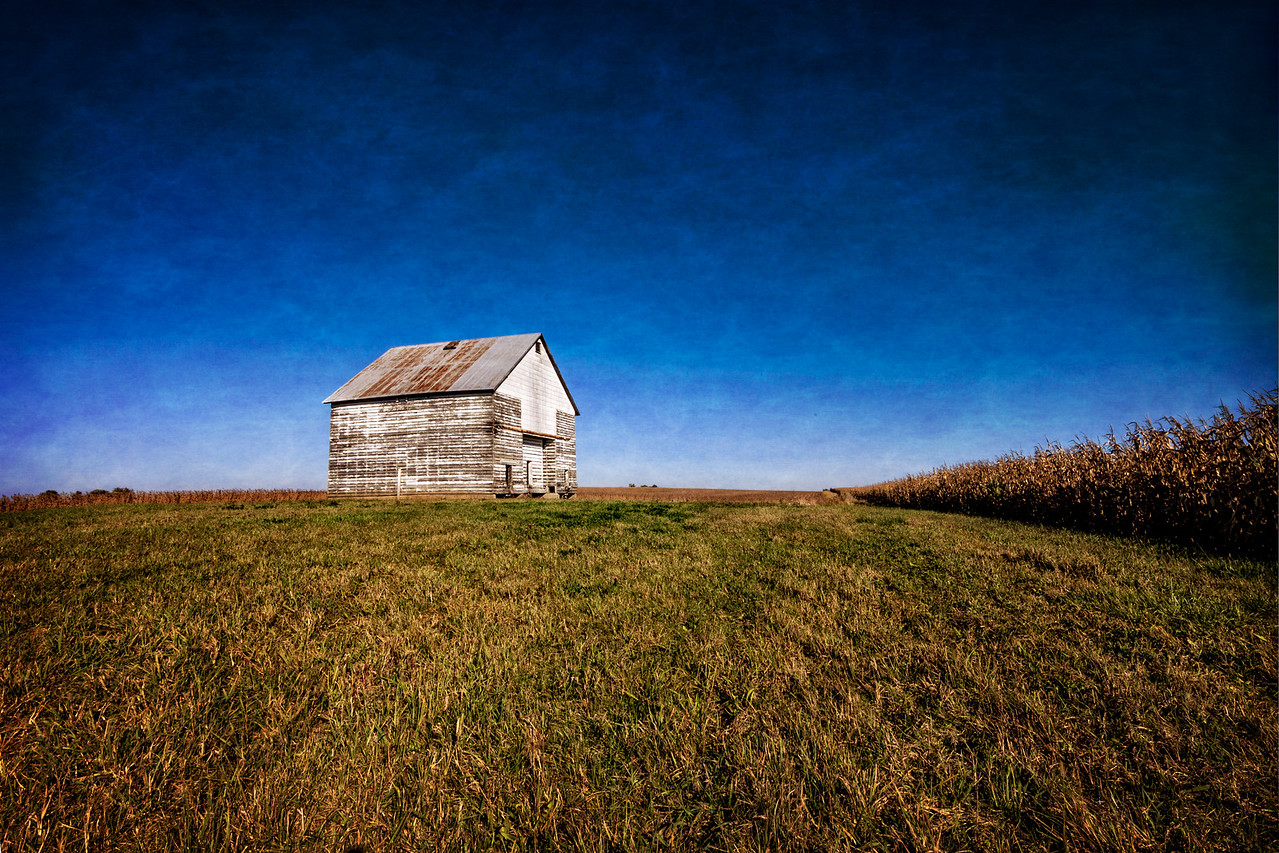 Kendal County Barn and Field