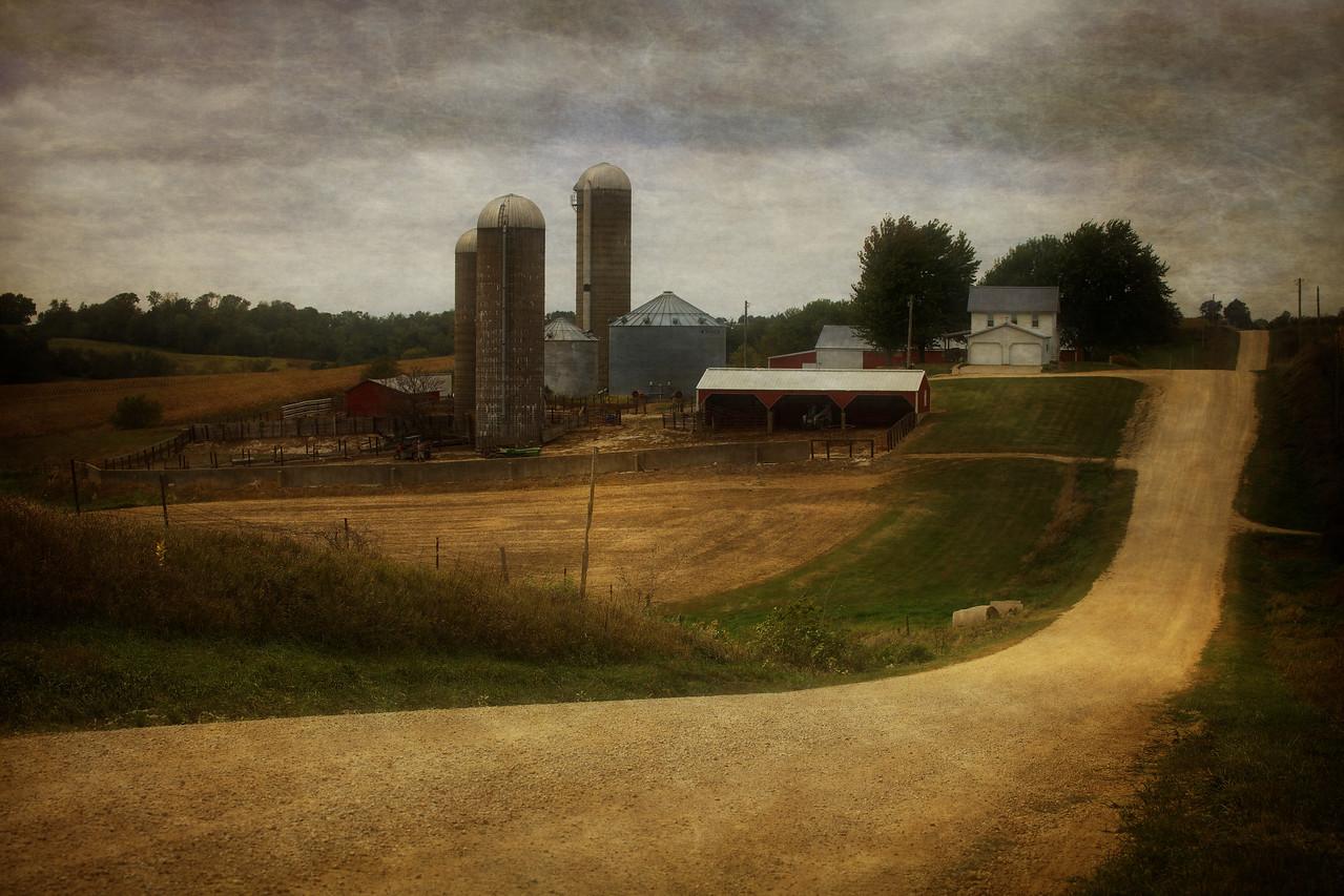 Iowa Farm and Road