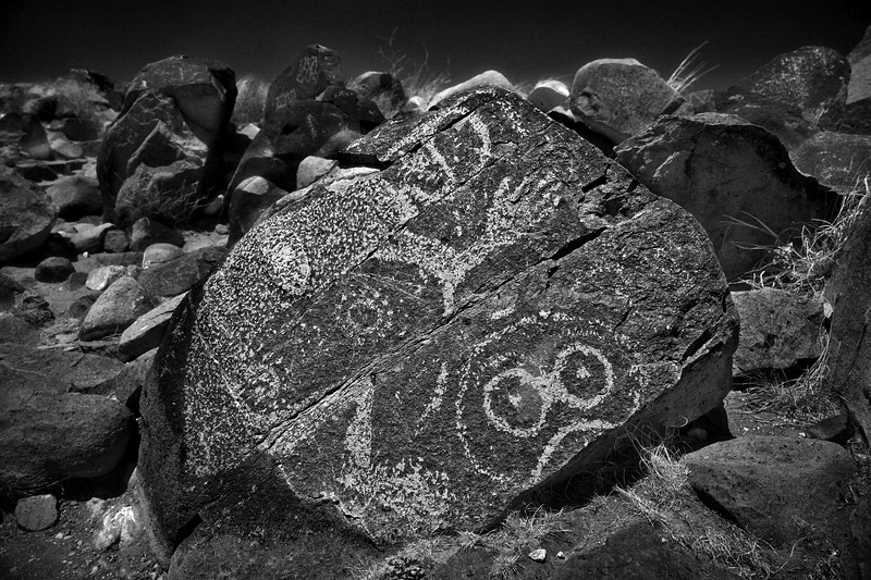 Alien Rock 3 Rivers BW