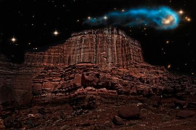 Valley of Fire Hubble Nebula