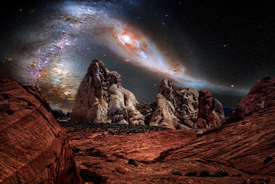 Valley of Fire Hubble