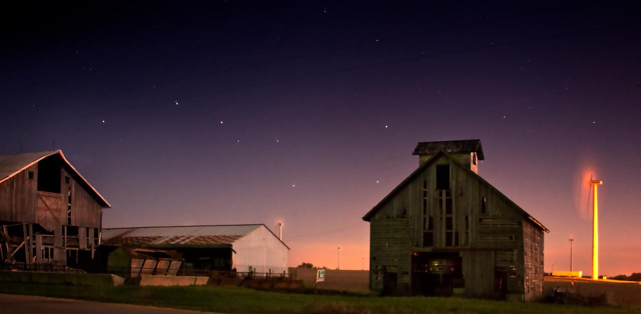 Big Dipper Barn and Wind Farm
