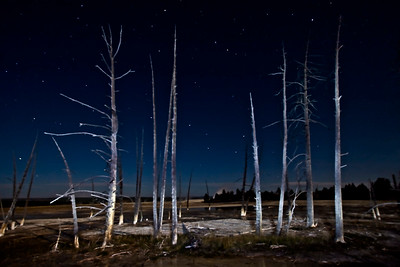 Yellowstone Big Dipper at the Pots