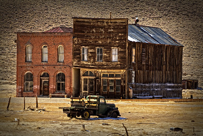 Bodie Truck and Buildings