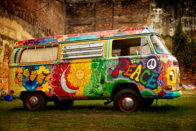 Peace VW Bus