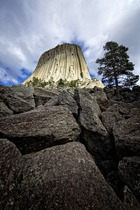Devils Tower West Face