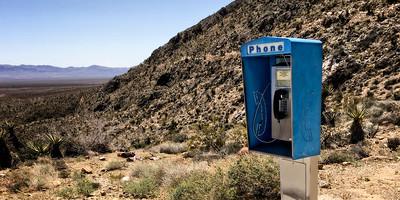 Pay Phone Mojave