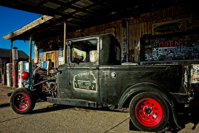 Rat Rod Garage Truck