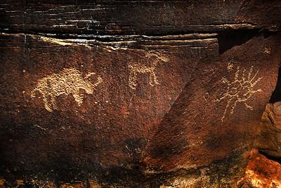 Arches Petroglyph 2