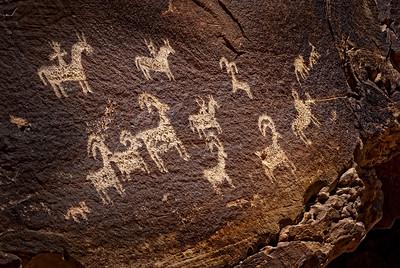 Arches-Petroglyph