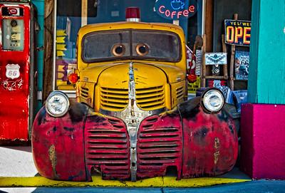 Seligman Fire Truck