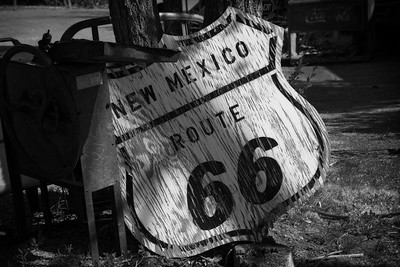 Old Rt 66 Sign