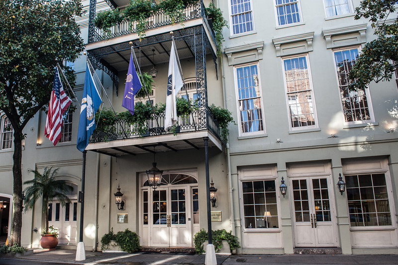 The French Quarter of New Orleans contains a great array of architectural styles and an infinite number of hotels, restaurants, and bars - in a addition to many homes and apartments.