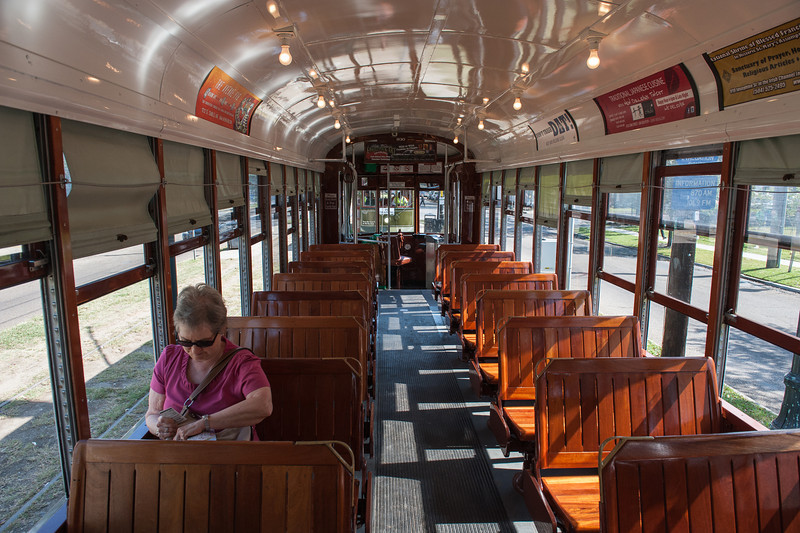 This Trolly Car was built in 1923.  Pretty nice for its age.