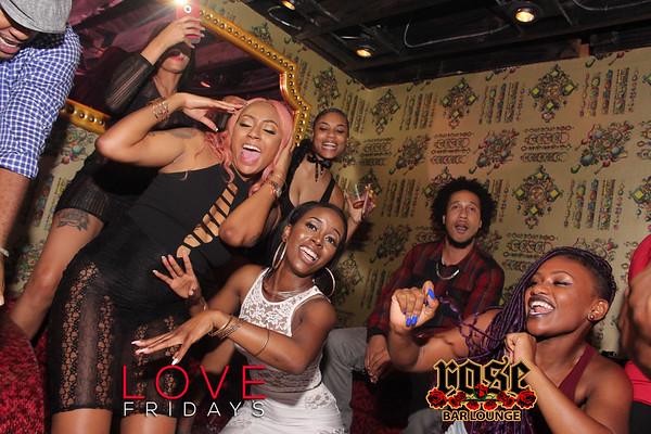 Love Fridays @ Rose Bar 08/04/17