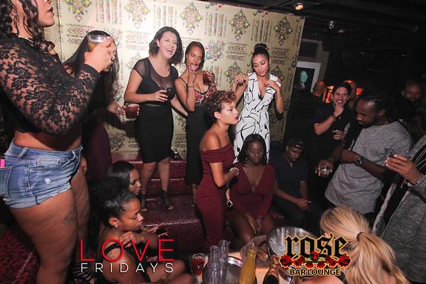 Love Fridays @ Rose Bar 09/15/17