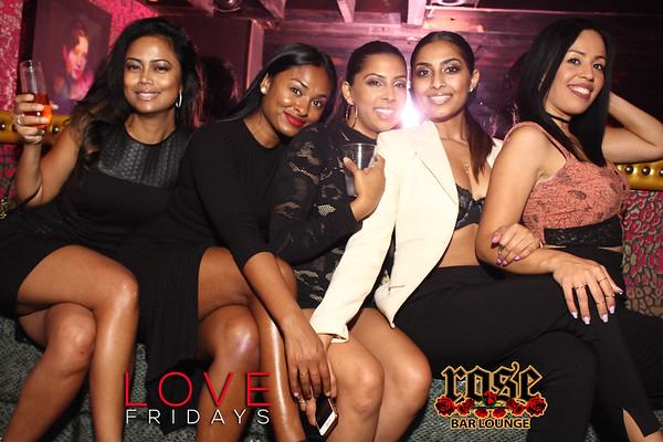 Love Fridays @ Rose Bar 09/22/17