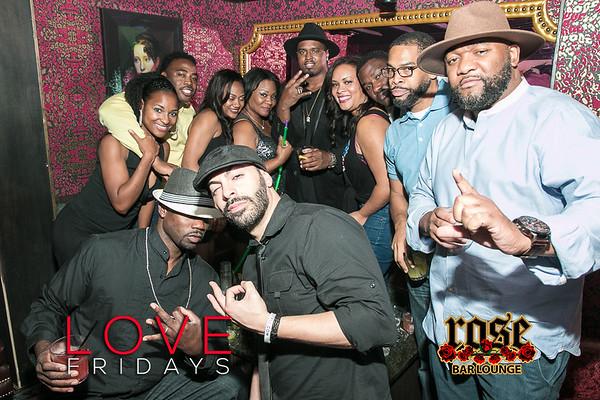 Love Fridays @ Rose Bar 10/28/16