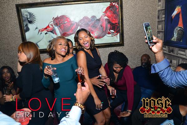 Love Fridays @ Rose Bar 11/04/16