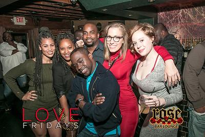 Love Fridays @ Rose Bar 11/18/16