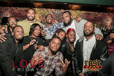 Love Fridays @ Rose Bar 12/02/16