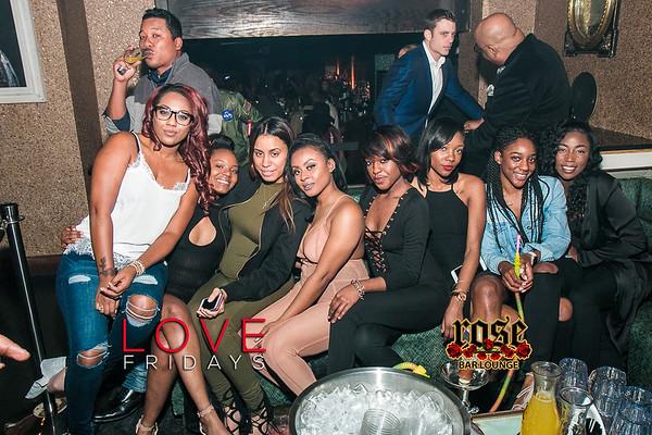 Love Fridays @ Rose Bar 1/27/17