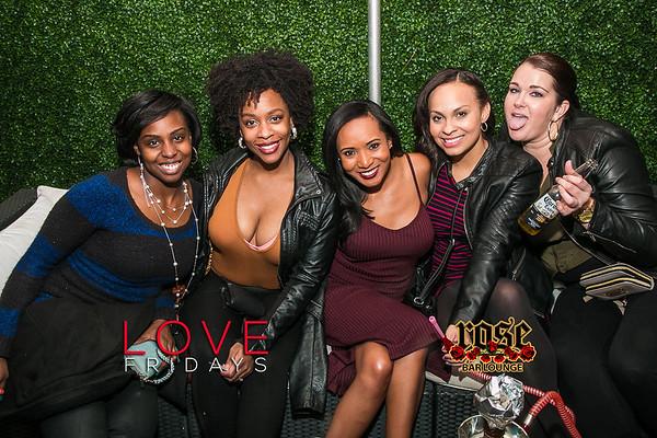 Love Fridays @ Rose Bar 2/03/17