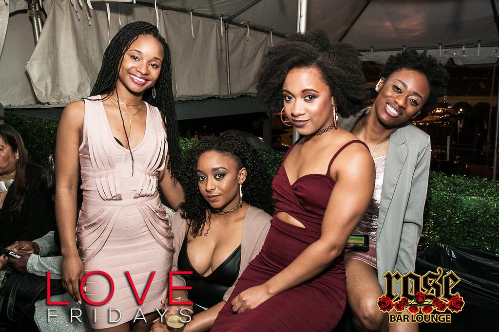 Love Fridays @ Rose Bar 3/10/17