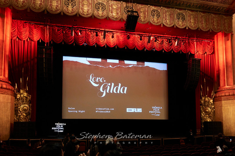 Lisa's Documentary, Love Gilda, Tribeca film festival Opening night,