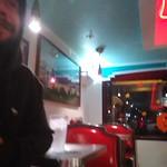 John at the Bville Diner