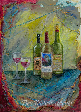 Wine Anyone-BevKadowArt