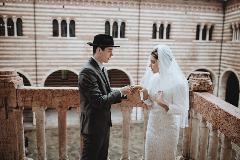 Elopement in Verona Italy