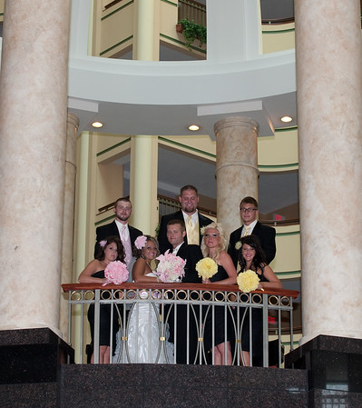 Lively Wedding Party