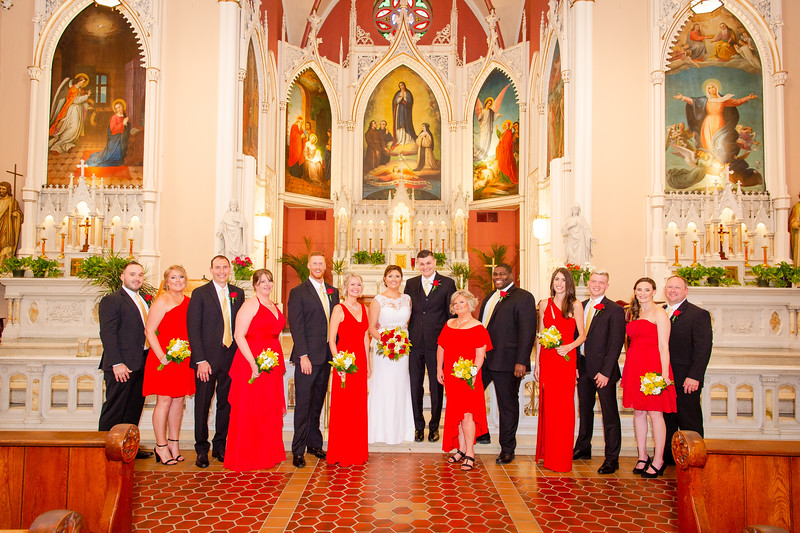 The Church of the Immaculata Ceremony
