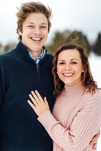 Drew and Emily's engagment session at the Viles Arboretum in Augusta Maine.