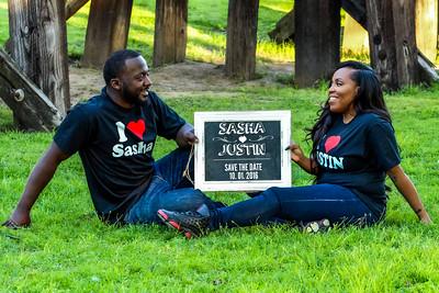 Sasha & Justin Save the Date Engagement