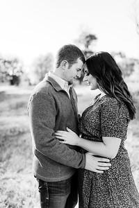 00006©ADHPhotography2020--LaurenRugglesClaytonSkolout--Engagement--October12bw