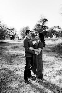 00002©ADHPhotography2020--LaurenRugglesClaytonSkolout--Engagement--October12bw